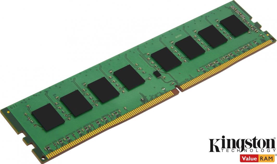 Pamięć Kingston ValueRAM, DDR4, 16 GB, 3200MHz, CL22 (KVR32N22S8/16) 1