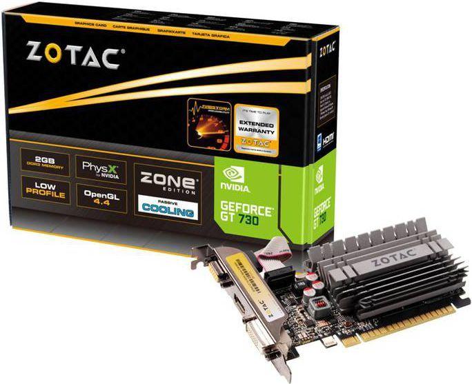 Karta graficzna Zotac GeForce GT 730 Zone 2GB DDR3 (ZT-71113-20L) 1