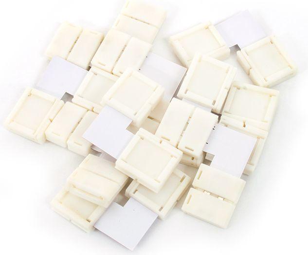 Abilite Szybkozłączka do taśm LED 5050 10mm 10 sztuk (5901583545993) 1
