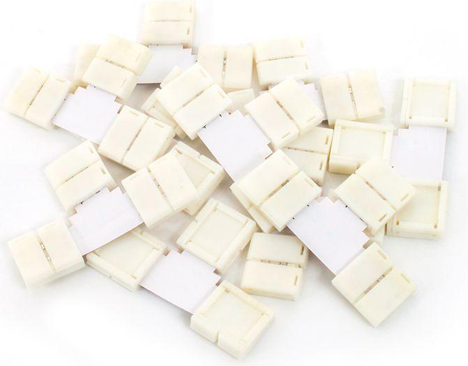 """Abilite Szybkozłączka """"T"""" do taśm LED 5050 10mm 10 sztuk (5901583546013) 1"""