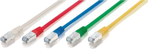 Equip Patch cord, KAT 6, S/FTP, 2m, Niebieski (605531) 1