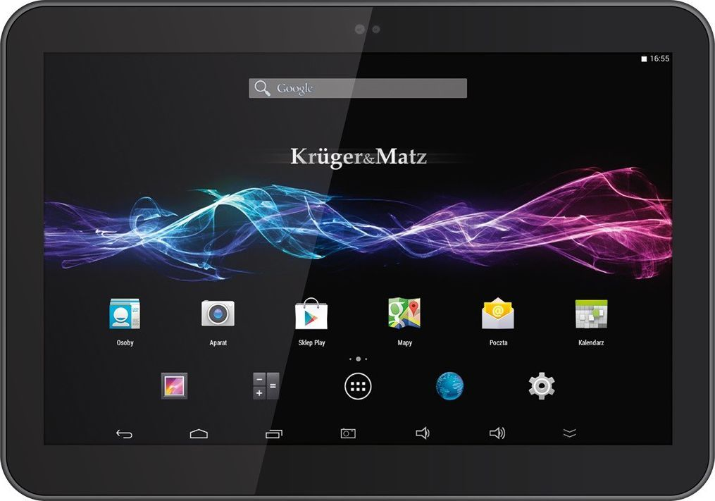 "Tablet Kruger&Matz 10.1"" 8 GB 3G Czarny  (KM1065G) 1"