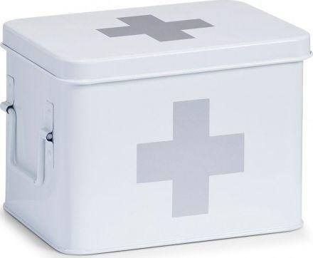 Zeller Apteczka na lekarstwa biała 16,5x22,5x16cm 1