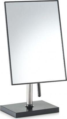 Lusterko kosmetyczne Zeller stołowe czarne 30x16.5cm 1