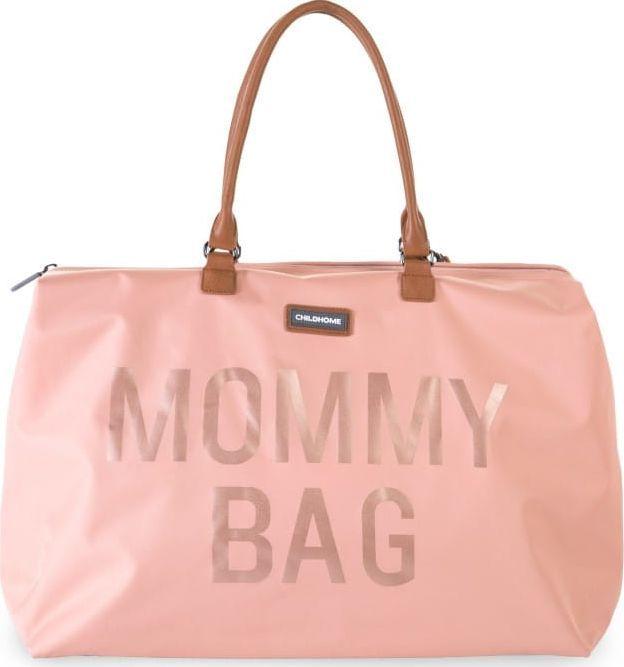 Childhome Torba Podróżna Mommy Bag Różowa Childhome 1
