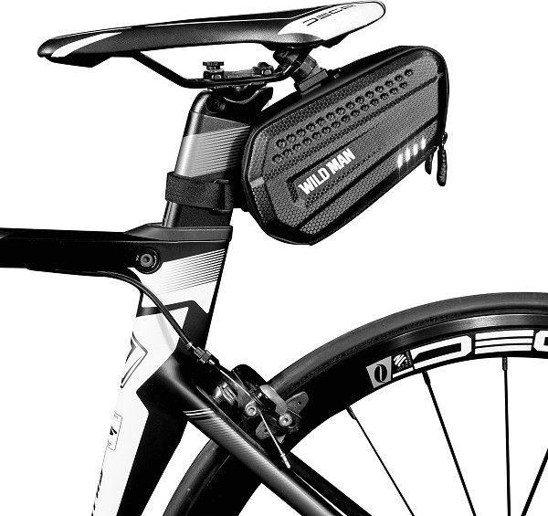 WildMan Etui/sakwa pod siodełko WILDMAN L ES7 uchwyt rowerowy czarna/black 1