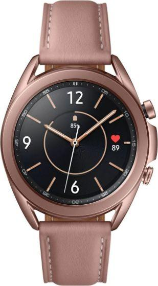 Smartwatch Samsung Galaxy Watch 3 Mystic Bronze 41mm Brązowy  (SM-R850NZDAEUE) 1