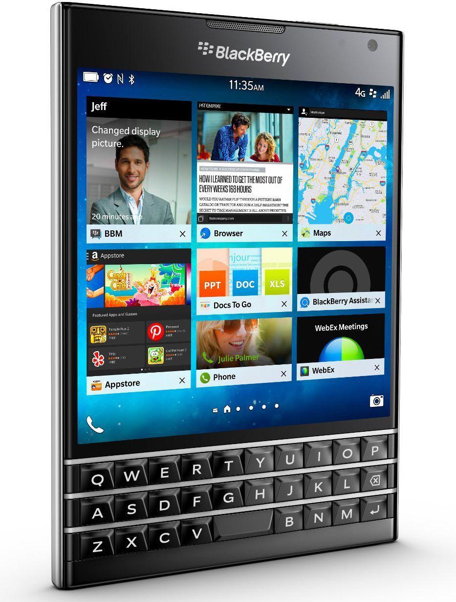 Smartfon Blackberry Passport 32 GB Czarny  (Passport Black) 1