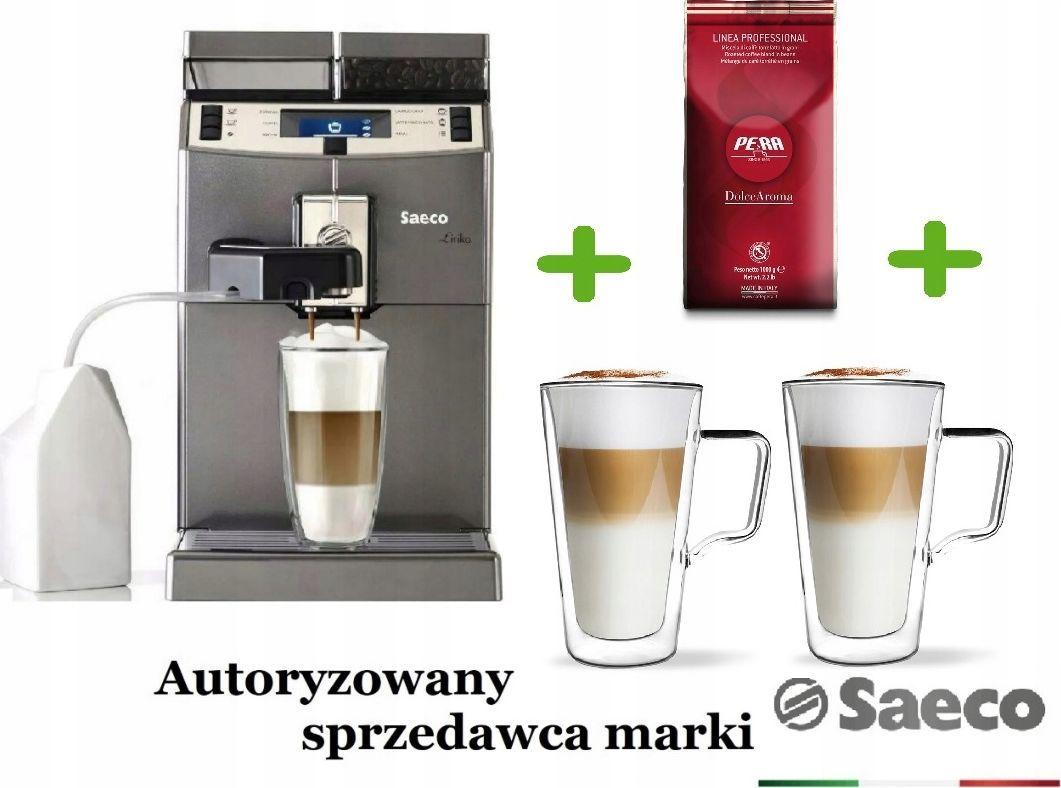 Ekspres ciśnieniowy Saeco Lirika One Touch Cappuccino + Gratisy 1