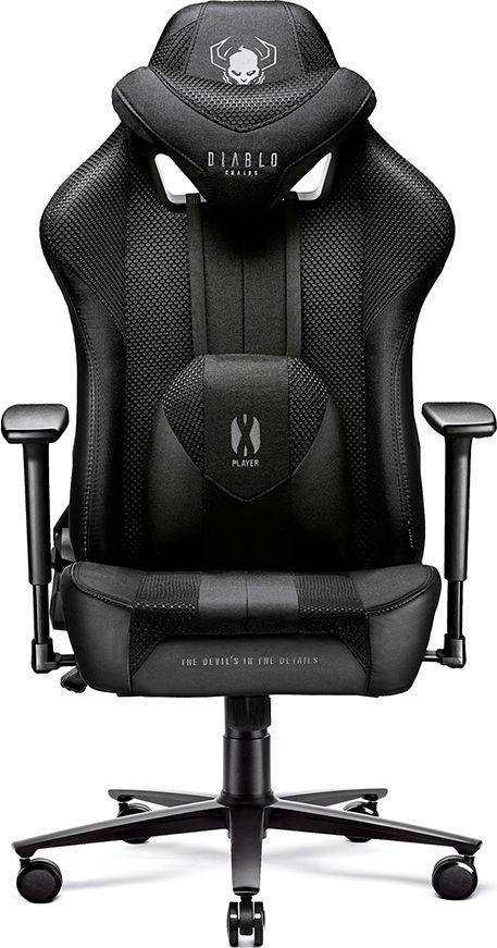Fotel Diablo Chairs X-PLAYER 2.0 Normal Size Czarny 1