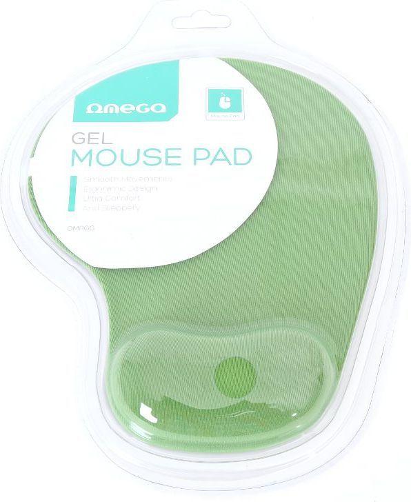 Podkładka Omega Gel Mouse Pad zielona (42127) 1