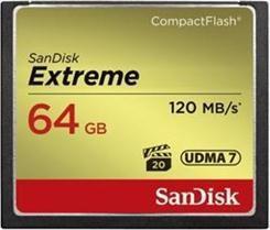 Karta SanDisk Extreme Compact Flash 64 GB  (SDCFXSB-064G-G46) 1