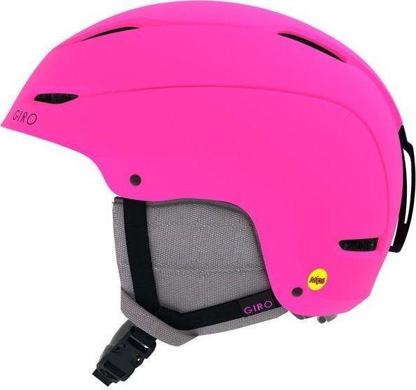 Giro Kask zimowy GIRO CEVA matte bright pink roz. M (55.5-59 cm) (DWZ) uniwersalny 1