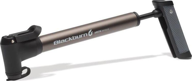 Blackburn Pompka ręczna BLACKBURN AIRSTIK ANYVALVE HV 160psi 2 strony pompowania grafitowa (NEW) uniwersalny 1