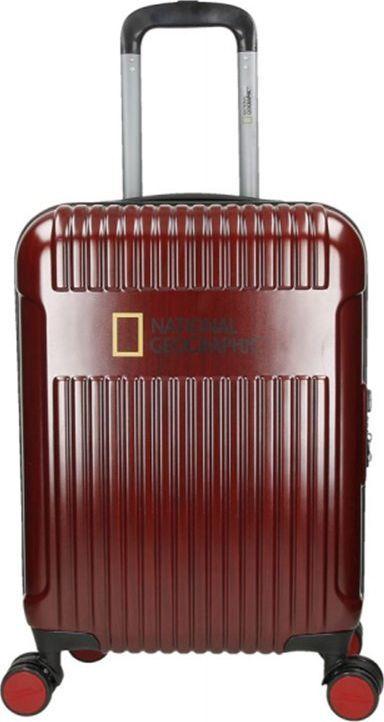 National Geographic Mała kabinowa walizka NATIONAL GEOGRAPHIC TRANSIT Czerwona uniwersalny 1