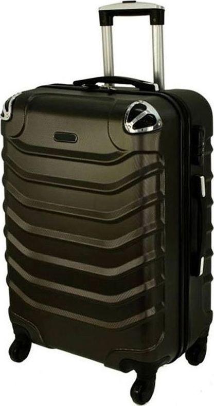 PELLUCCI Bardzo mała kabinowa walizka PELLUCCI RGL 730 XS Szara uniwersalny 1