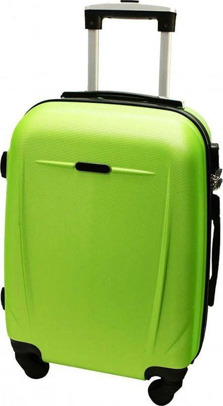 PELLUCCI Mała kabinowa walizka PELLUCCI RGL 780 S Limonkowa uniwersalny 1