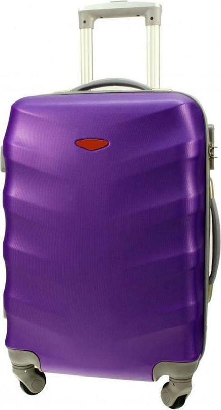 PELLUCCI Małe kabinowa walizka PELLUCCI RGL 81 S Fioletowa uniwersalny 1