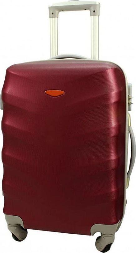 PELLUCCI Małe kabinowa walizka PELLUCCI RGL 81 S Bordowa uniwersalny 1