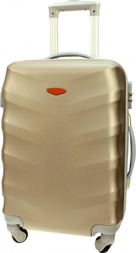 PELLUCCI Małe kabinowa walizka PELLUCCI RGL 81 S Złota uniwersalny 1