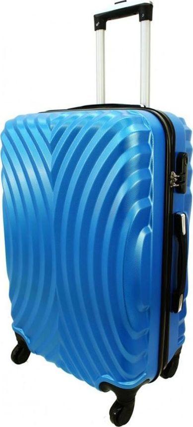 PELLUCCI Mała kabinowa walizka PELLUCCI RGL 760 S Niebieska uniwersalny 1