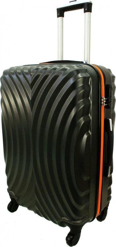 PELLUCCI Mała kabinowa walizka PELLUCCI RGL 760 S Szaro Pomarańczowa uniwersalny 1