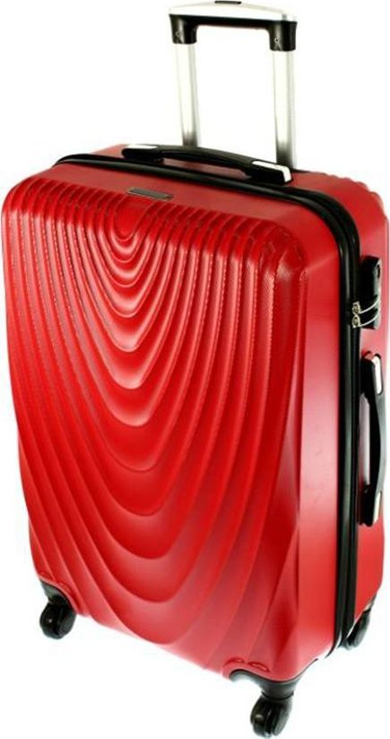 PELLUCCI Mała kabinowa walizka PELLUCCI RGL 663 S Czerwona uniwersalny 1