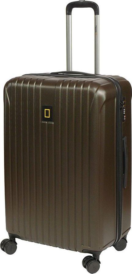 National Geographic Duża walizka NATIONAL GEOGRAPHIC TRACK Khaki uniwersalny 1