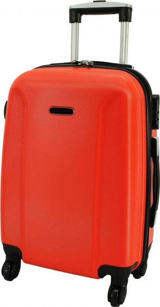 PELLUCCI Duża walizka PELLUCCI RGL 790 L Pomarańczowa uniwersalny 1
