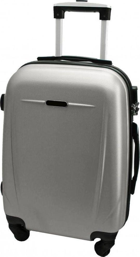 PELLUCCI Duża walizka PELLUCCI RGL 780 L Srebrna uniwersalny 1