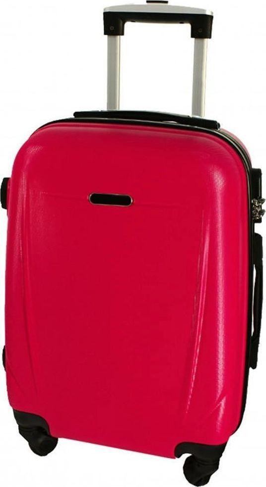 PELLUCCI Duża walizka PELLUCCI RGL 780 L Różowa uniwersalny 1