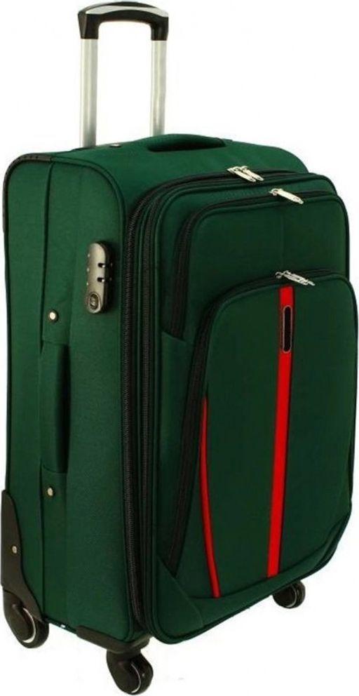 PELLUCCI Duża walizka PELLUCCI RGL S-020 L Zielona uniwersalny 1
