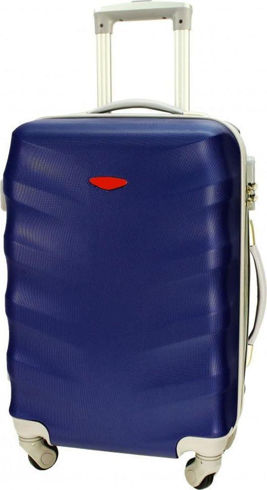 PELLUCCI Duża walizka PELLUCCI RGL 81 L Granatowa uniwersalny 1