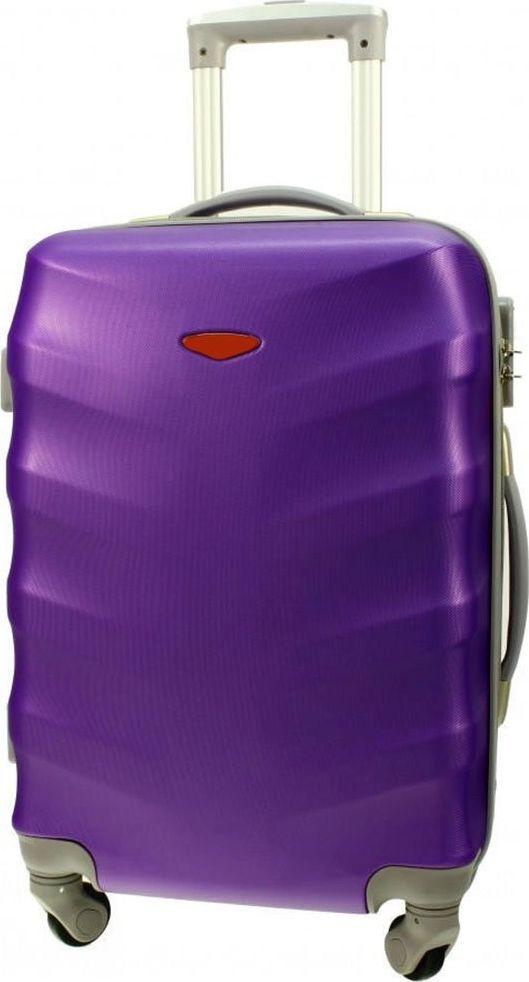 PELLUCCI Duża walizka PELLUCCI RGL 81 L Fioletowa uniwersalny 1