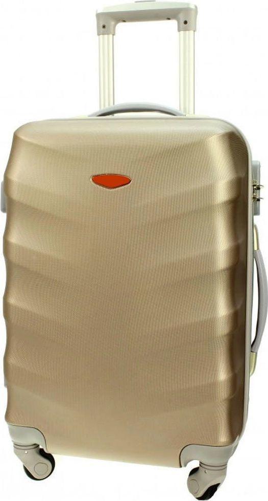 PELLUCCI Duża walizka PELLUCCI RGL 81 L Złota uniwersalny 1