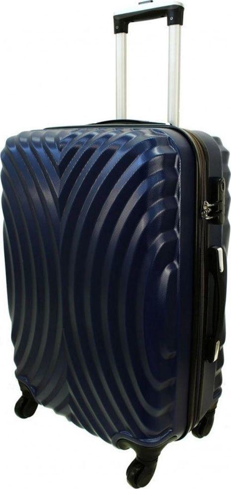 PELLUCCI Duża walizka PELLUCCI RGL 760 L Granatowa uniwersalny 1