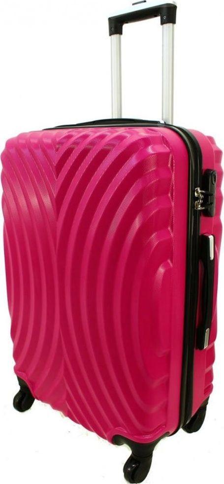 PELLUCCI Duża walizka PELLUCCI RGL 760 L Różowa uniwersalny 1