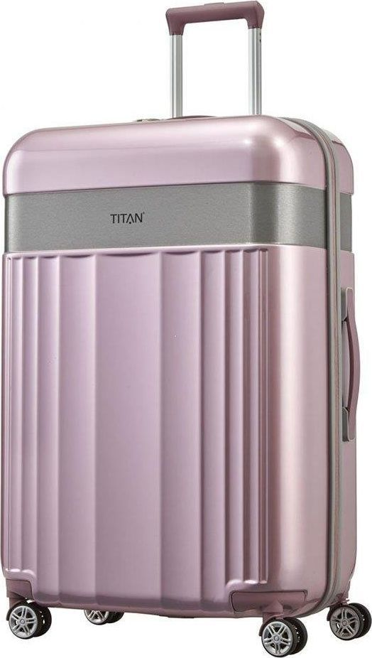 Titan Duża walizka TITAN Spotlight Flash 831404-12 Różowa uniwersalny 1