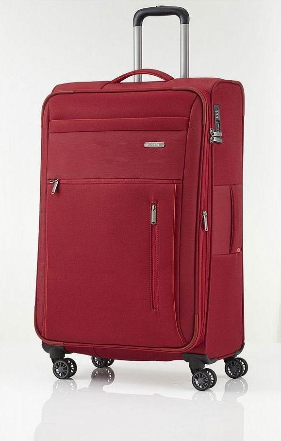Travelite Duża walizka TRAVELITE CAPRI 89849-10 Czerwona uniwersalny 1