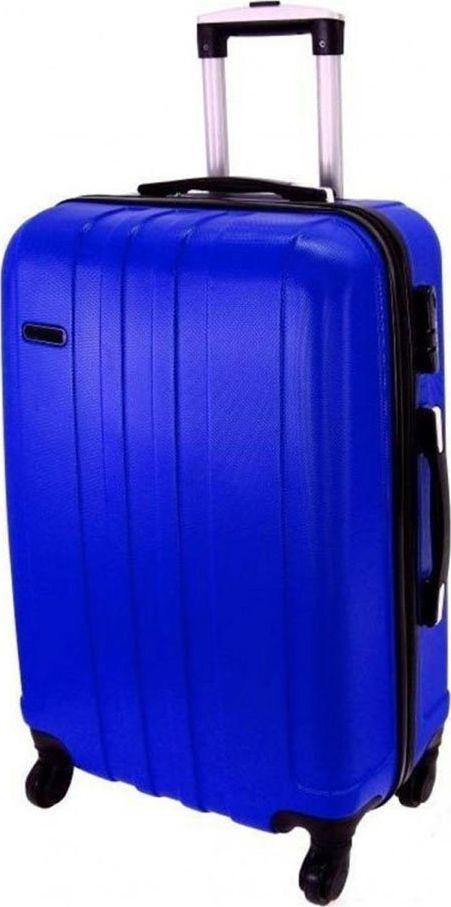 PELLUCCI Średnia walizka PELLUCCI RGL 740 M Niebieska uniwersalny 1