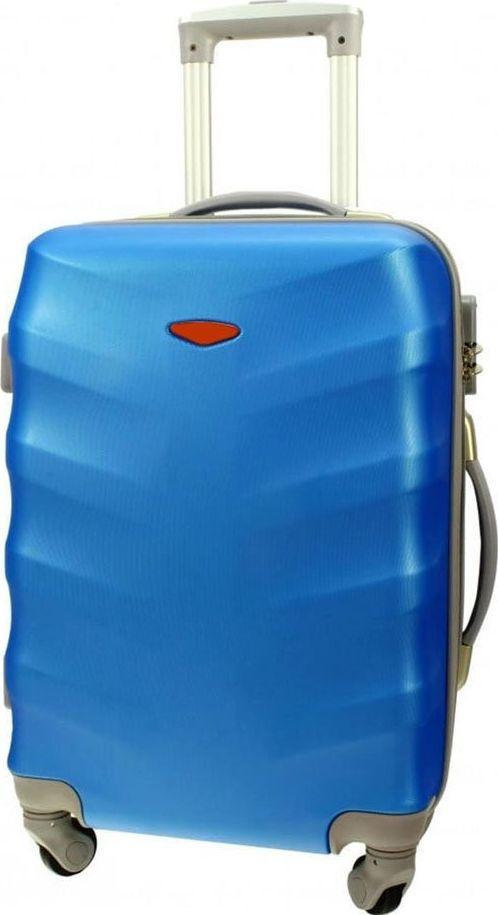 PELLUCCI Średnia walizka PELLUCCI RGL 81 M Niebieska uniwersalny 1