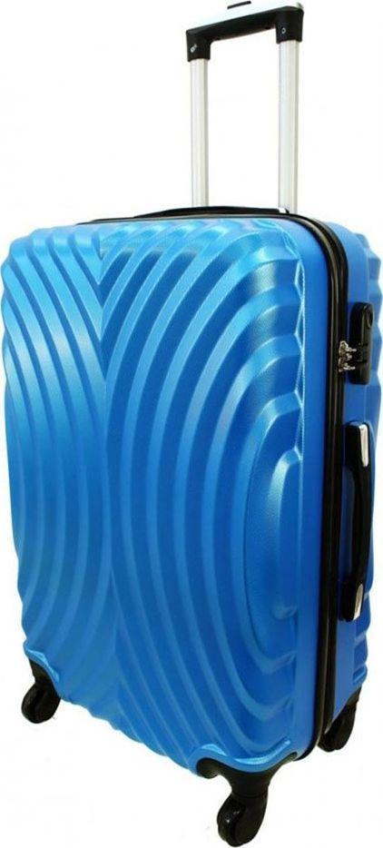 PELLUCCI Średnia walizka PELLUCCI RGL 760 M Niebieska uniwersalny 1