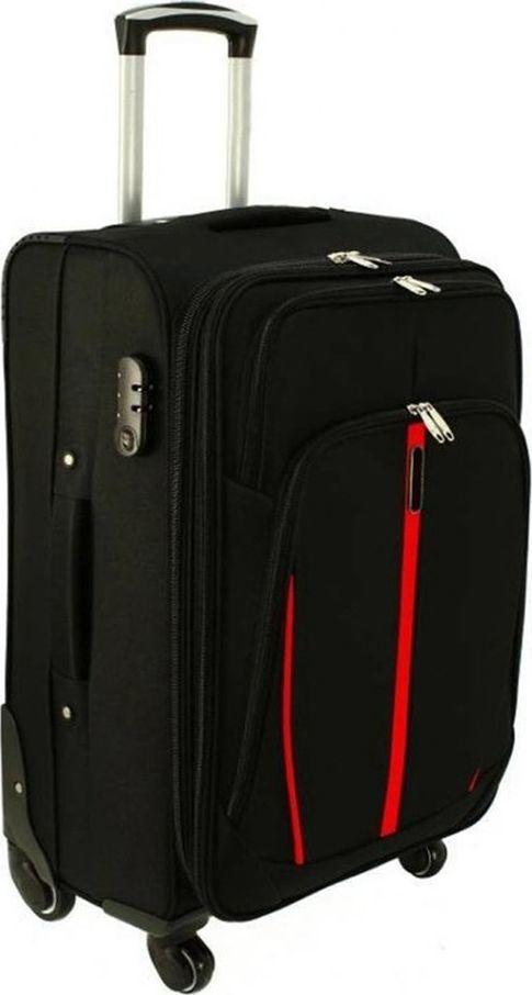 PELLUCCI Średnia walizka PELLUCCI RGL S-020 M Czarna uniwersalny 1