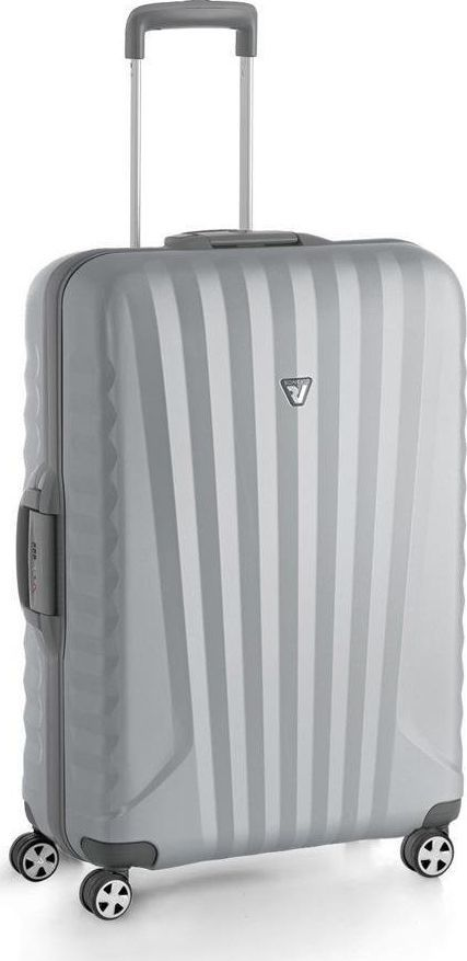 Roncato Średnia walizka RONCATO UNO SL 5142-0225 Srebrna uniwersalny 1
