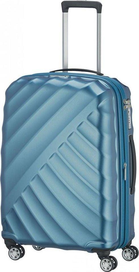 Titan Średnia walizka TITAN Shooting Star 828405-22 Niebieska uniwersalny 1