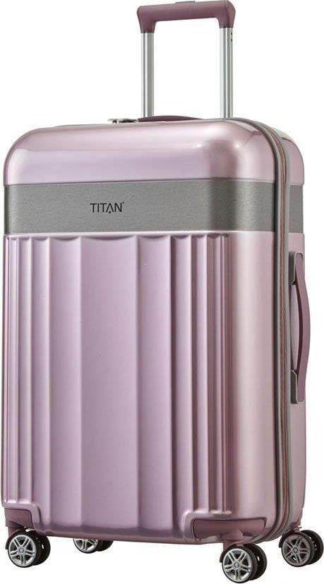 Titan Średnia walizka TITAN Spotlight Flash 831405-12 Różowa uniwersalny 1