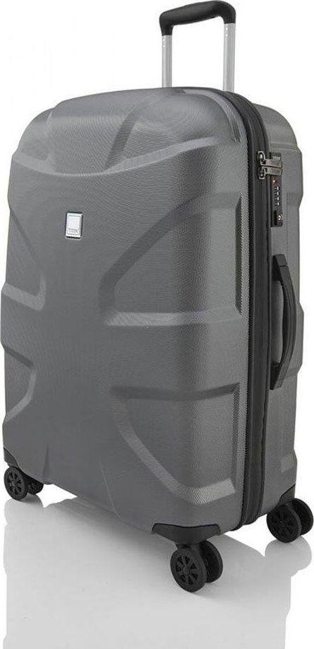 Titan Średnia walizka TITAN X2 Shark skin 825407-85 Szara uniwersalny 1