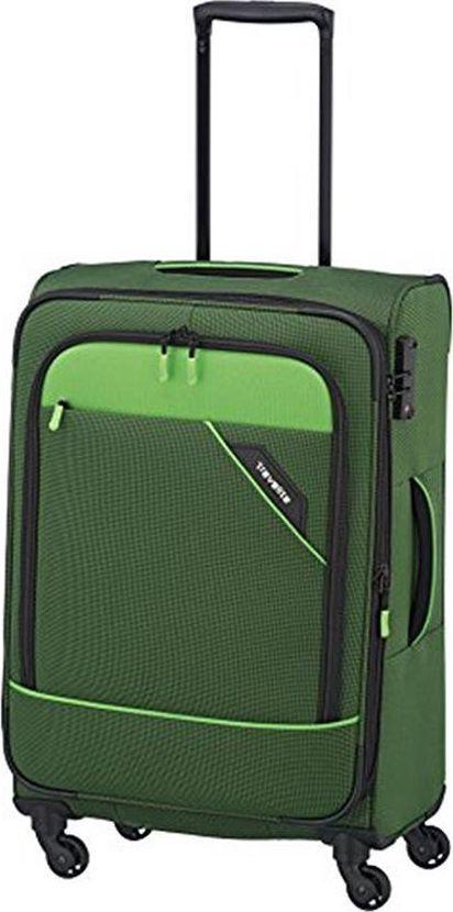 Travelite Średnia walizka TRAVELITE DERBY 87548-80 Zielona uniwersalny 1
