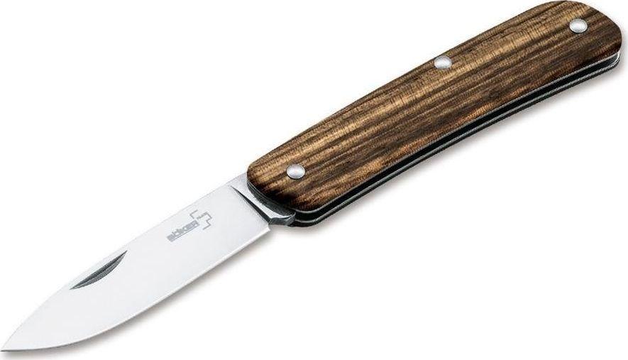 BOKER Nóż Boker Plus Tech-Tool 1 Zebra Wood Brązowy uniwersalny 1