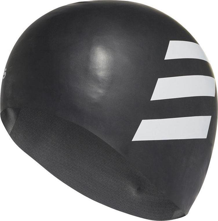 Adidas Czepek adidas silikonowy 3 Stripes Cap czarny FJ4969 uniwersalny 1